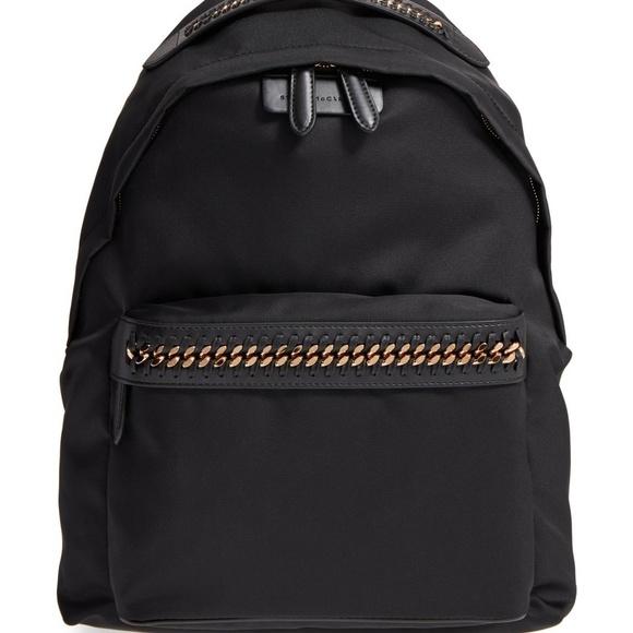 d41e3681d3b2 Stella McCartney Eco-Nylon Woven-Trim Backpack